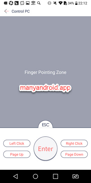 android phone to control pc via zapya