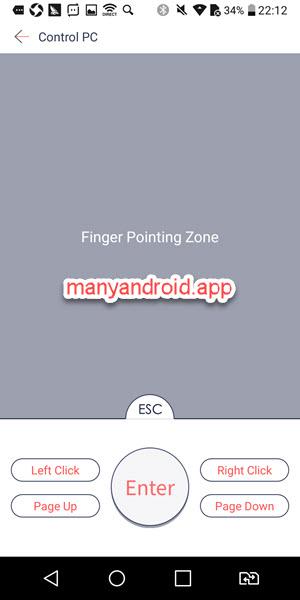 android phone to control pc via zapya