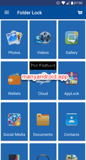 folder lock, file locker app for android phone