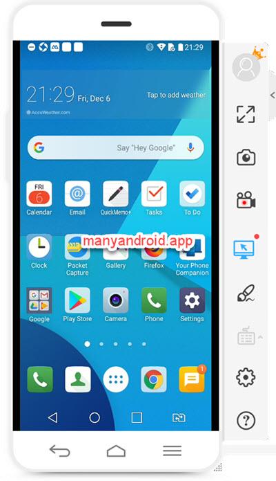 mirror android phone screen to windows pc using apowermirror