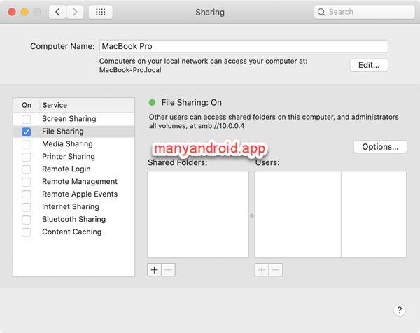 enable mac file sharing smb