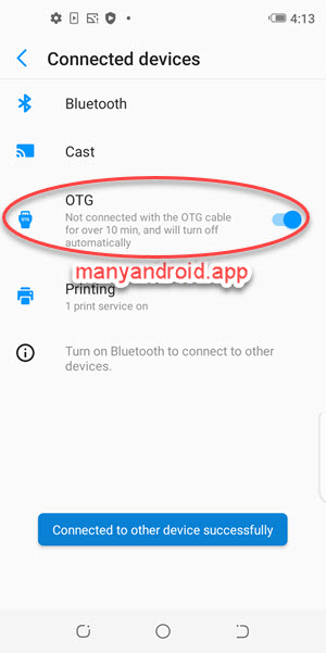 Enable OTG on Tecno mobile