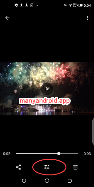 use google photos app to edit videos on android mobile phone