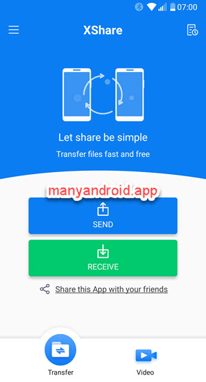 Xshare for Android - free file transfer