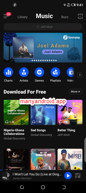 boomplay for android