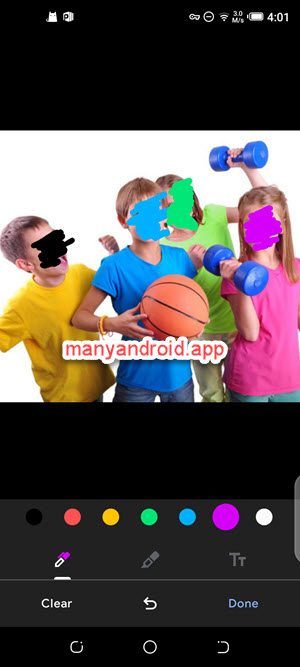 markup photos on mobile phone using google photos for android