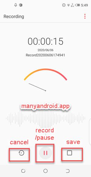 record sound, voice, audio on tecno mobile phone