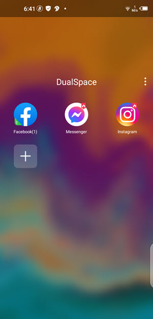 dualspace app to clone apps on android mobile phone